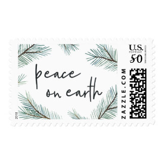 Pine Boughs | Peace on Earth Holiday Postage