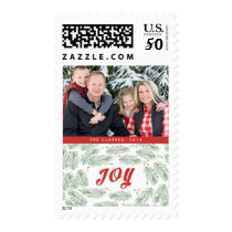 Pine Bows | Holiday Postage Stamps