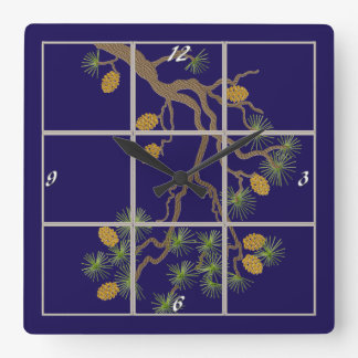 Pine Branch Clock