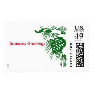 Pine branch postage