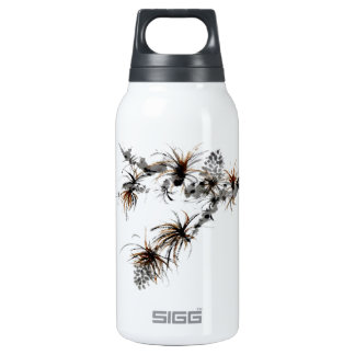 Pine Branch, Sumi-e Insulated Water Bottle