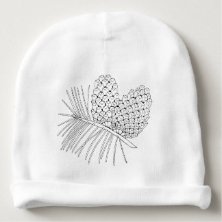 Pine Branch Two Baby Beanie