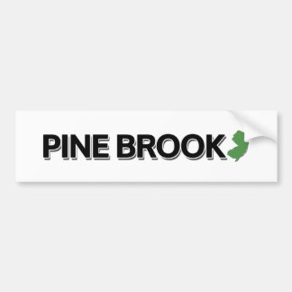 Pine Brook, New Jersey Bumper Sticker
