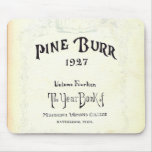 Pine Burr yearbook 1927 Mouse Pads