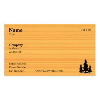 Pine Business Card