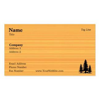 Pine Business Card