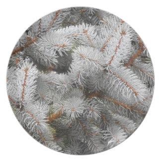 Pine-Christmas Tree Plate