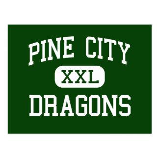 Pine City - Dragons - High - Pine City Minnesota Postcard