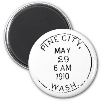 Pine City Ghostmark Magnet