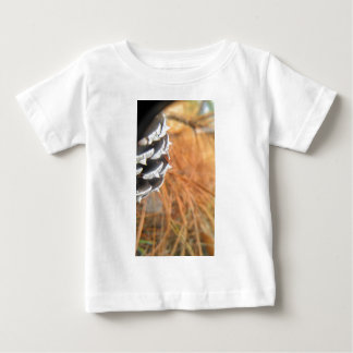 pine cone and golden needles tee shirts
