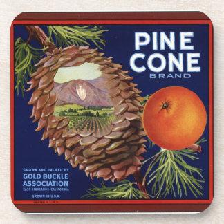 Pine Cone Brand Drink Coaster