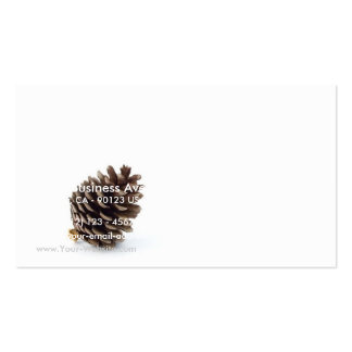 Pine Cone Business Card Template