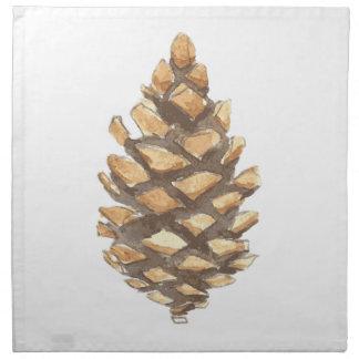 Pine Cone Cloth Napkin