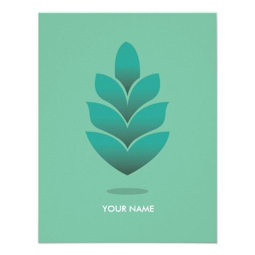 pine cone compliment card pastel turquoise x 5 5 invitation card zazzle. Black Bedroom Furniture Sets. Home Design Ideas