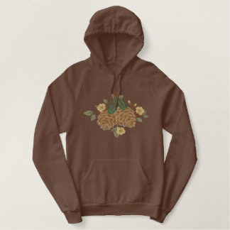 Pine Cone Country Embroidered Hoodie