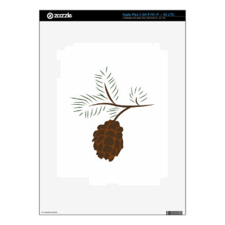 Pine Cone Decal For iPad 3