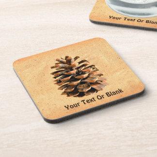Pine Cone Drink Coaster