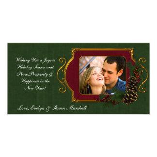 Pine Cone Elegance Picture Card