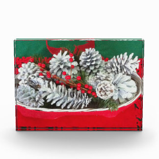 Pine Cone Holly Decoration Awards