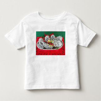 Pine Cone Holly Decoration Toddler T-shirt