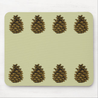 Pine cone Illustration Mouse Pad