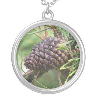 Pine Cone in Yellowstone Custom Necklace