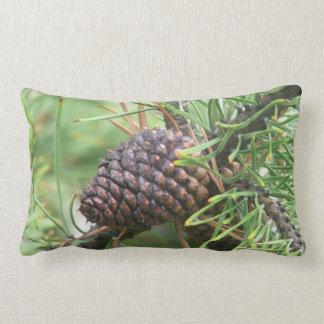 Pine Cone in Yellowstone Pillow
