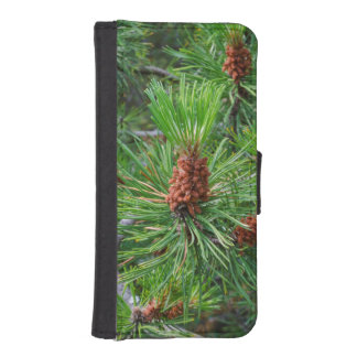 pine cone iPhone wallet case