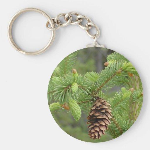 Pine Cone Key Chain