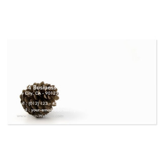 Pine Cone On White Background Business Card Templates