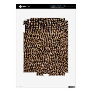 Pine Cone Pattern iPad 2 Decals
