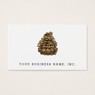Pine Cone (Ponderosa) Business Card