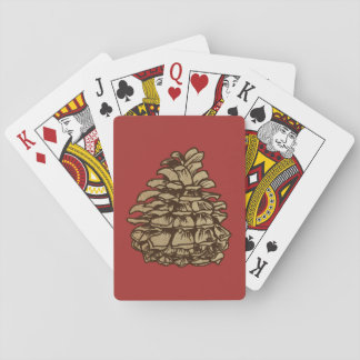 Pine Cone (Ponderosa) Deck Of Cards