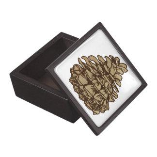 Pine Cone (Ponderosa) Gift Box