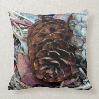 Pine Cone Throw Polyester Pillow