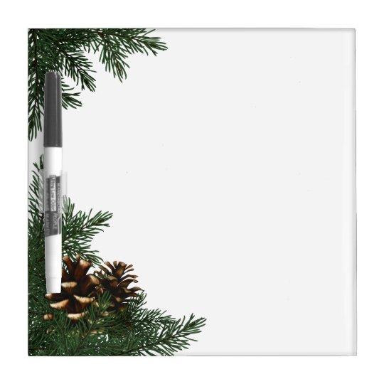 Pine Cone Tree Dry Erase Board