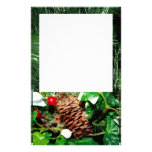 Pine Cone With Ivy Stationery