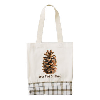Pine Cone Zazzle HEART Tote Bag