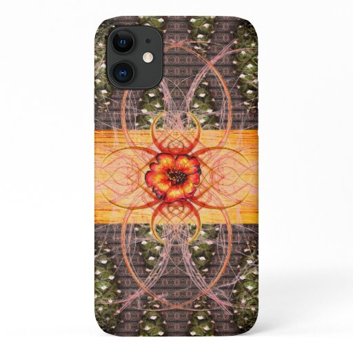 Pine Cones and A Scarlet Flower iPhone 11 Case