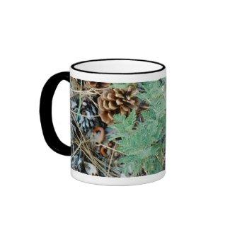 Pine Cones and Fern Mug mug