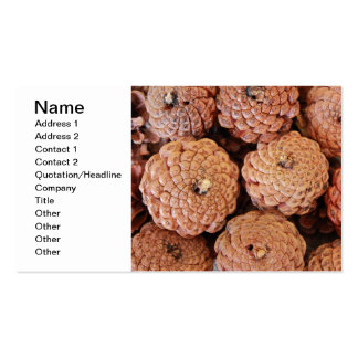 Pine Cones Business Cards
