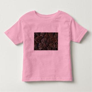 Pine cones texture toddler t-shirt