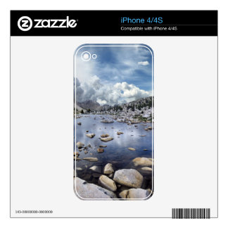 Pine Creek Pass - Sierra Nevada Mountains Decals For The iPhone 4S