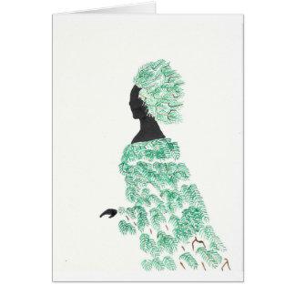 Pine Dryad Card