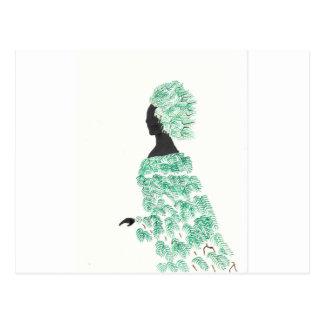 Pine Dryad Postcard
