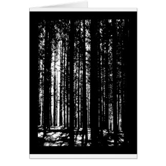 pine forest card