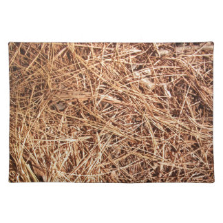 Pine Forest Floor, Pine Needles Placemat