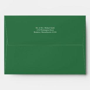 forest green envelopes zazzle