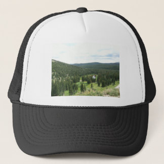 Pine Forest In Colorado Trucker Hat