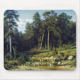 Pine Forest in Viatka Province Mouse Pad